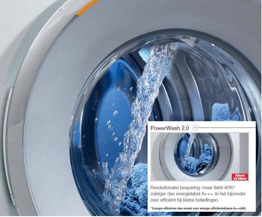 miele power wash toelichting op techniek