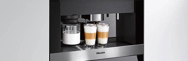 Assortiment inbouw koffiemachines