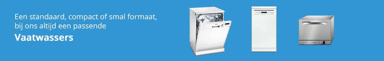 Functionele banner vaatwasser - Witgoed specialist
