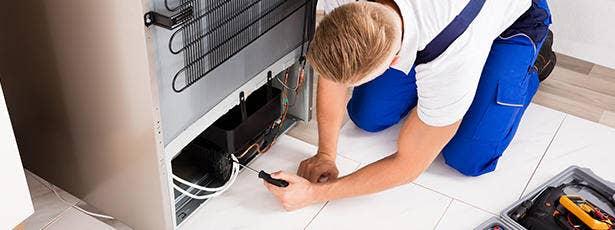 Reparatiebanner koelkasten