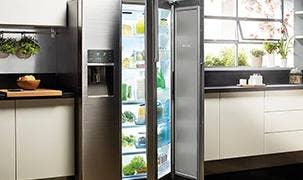 Afbeelding Amerikaanse koelkast