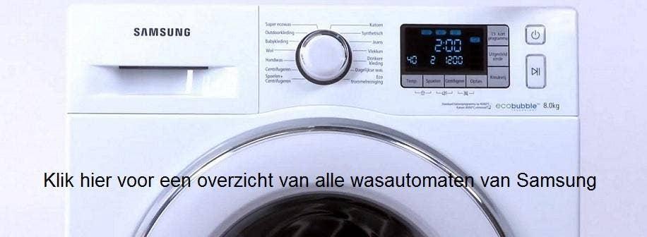 doorklik naar alle wasautomaten van samsung