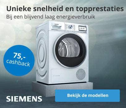 Siemens droger cashback actie